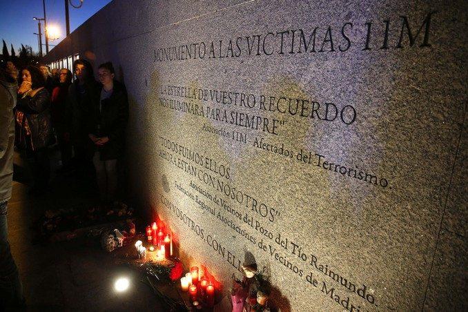 Homenaje 11M en El Pozo