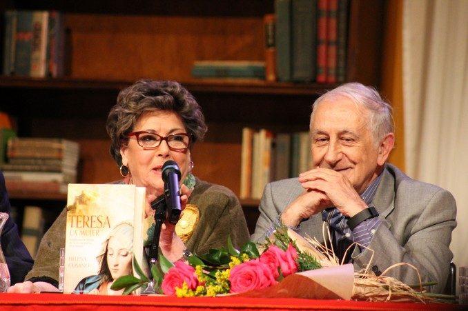 Paloma Gómez Borrero e Inocencio Arias
