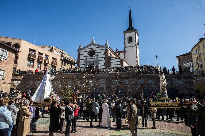 procesión del encuentro_