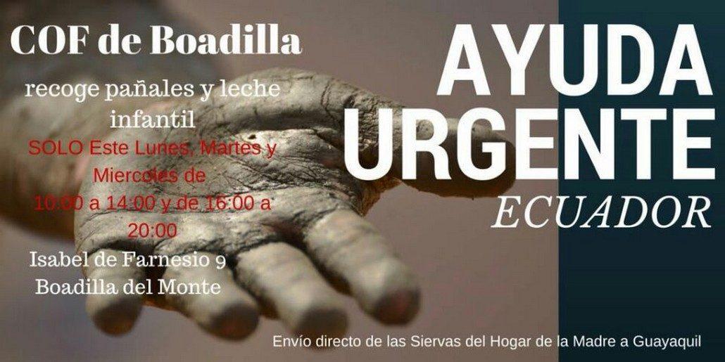 Ayuda Urgente Ecuador