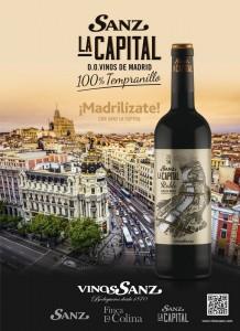 Cartel Madrilízate_Sanz La Capital Roble