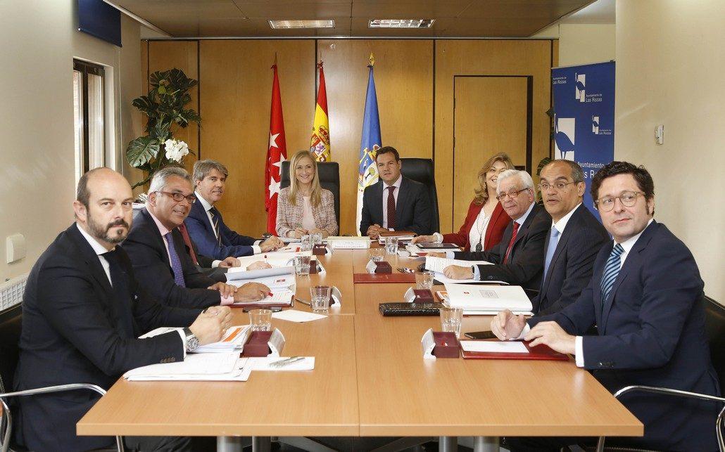 El Consejo de Gobierno de la Comunidad de Madrid se ha celebrado hoy en Las Rozas