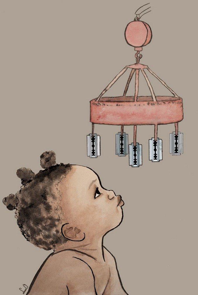 1º Premio: ¡Es una niña! - Autora: Laura Oliver Velasco