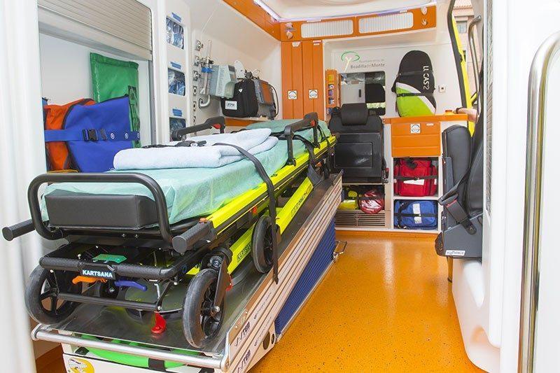 ambulancia soporte vital