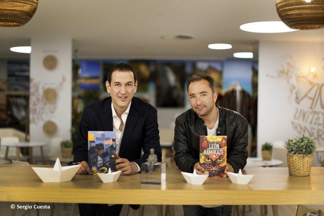 Roberto Santiago y Álvaro García Hernández, ganadores de la presente edición de los Premios
