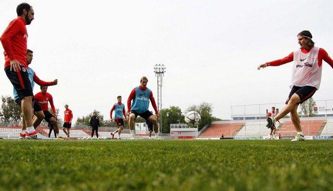 Entrenamiento en la Ciudad Deportiva de Majadahonda - Foto: Alex Marín