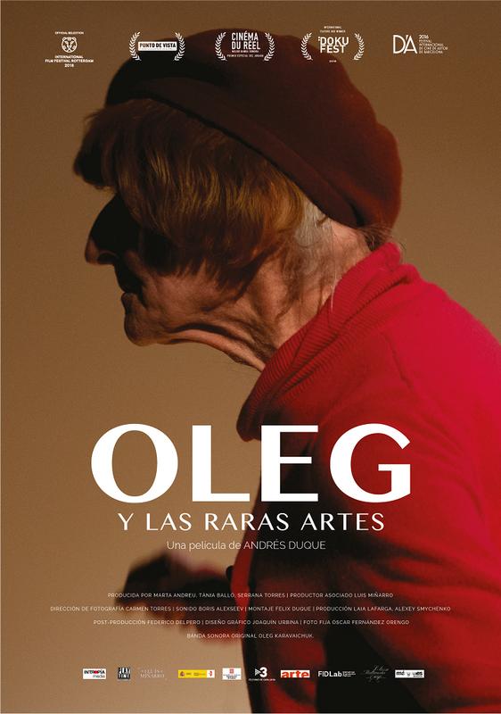 cartel_poster_oleg_y_las_raras_artes