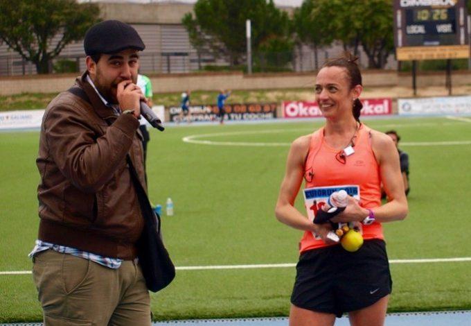 Ganadora de los 5k – Foto: Ignacio Castro Otero