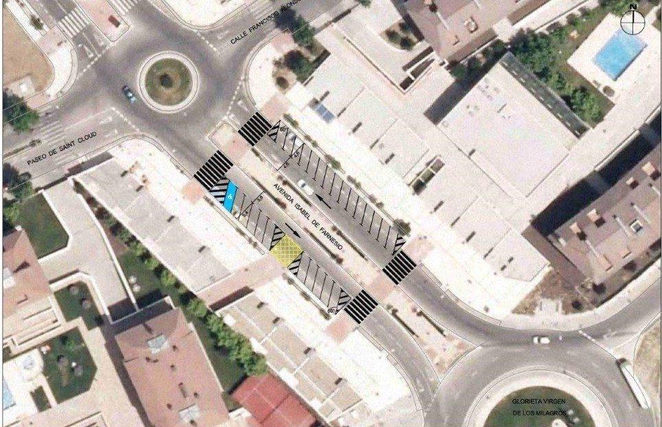 Las avenidas infante d luis e isabel de farnesio en for Piscina municipal majadahonda