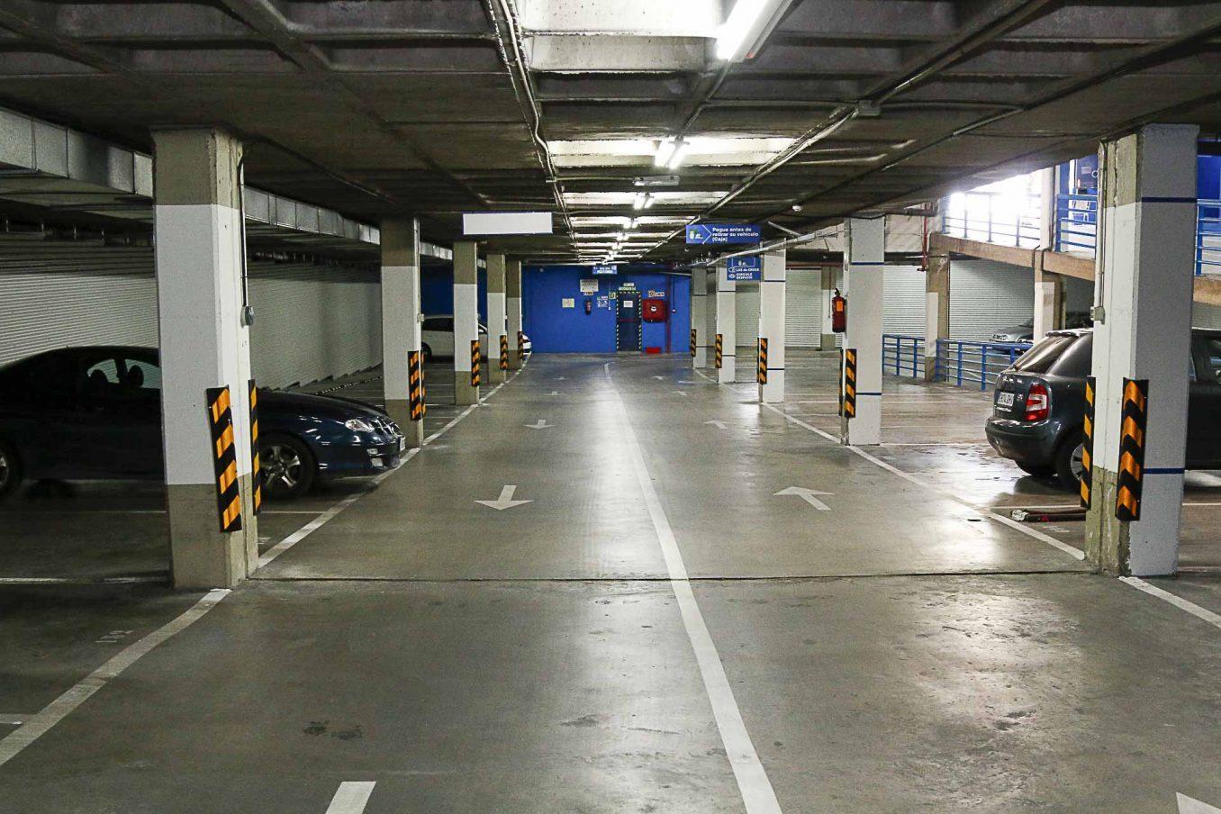 Finalizada la remodelaci n del aparcamiento municipal de for Piscina municipal majadahonda