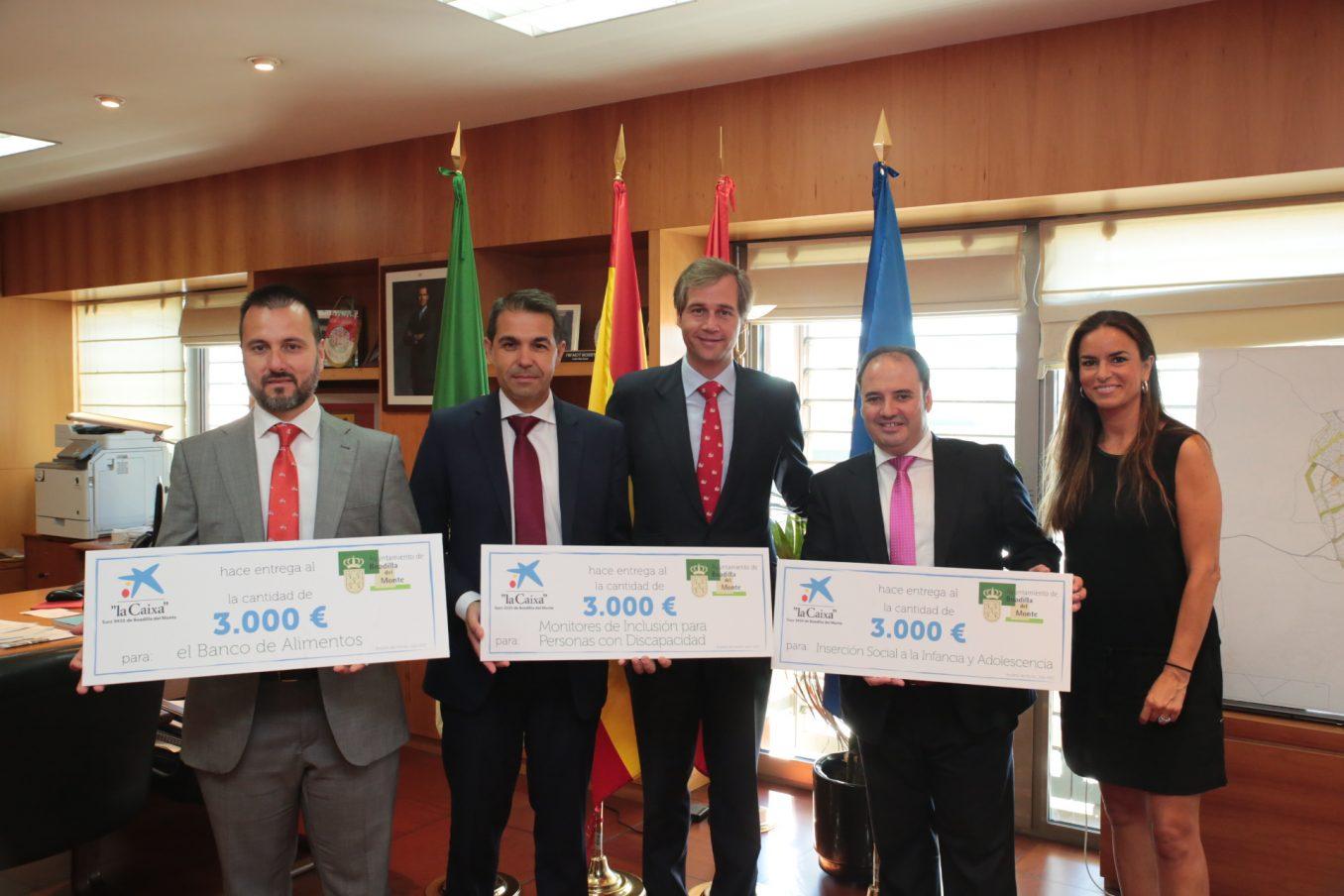 Caixabank dona euros a tres proyectos de acci n for Oficinas caixabank madrid