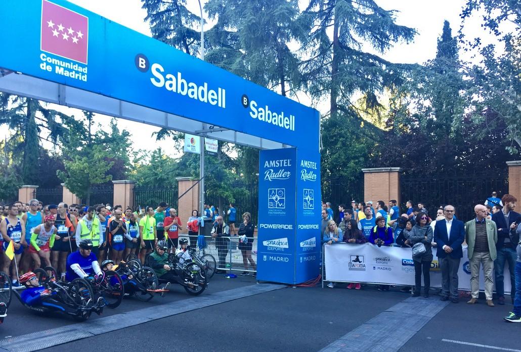 Deportistas participaron en la carrera popular for Madrid noroeste
