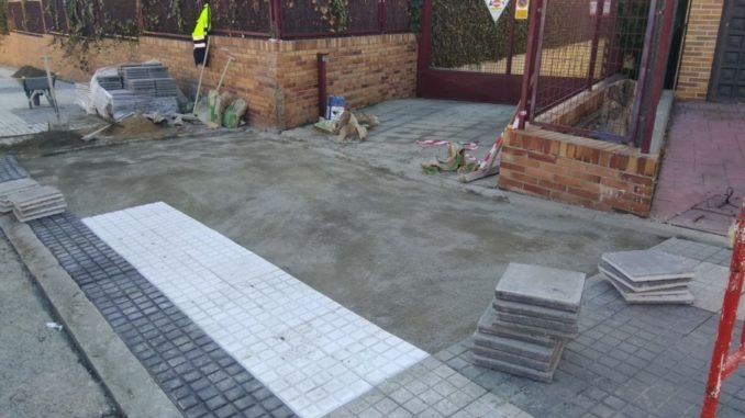 Nuevos pasos de cebra y arreglos en las aceras para - Pavimentos para aceras ...